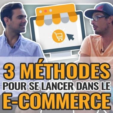 3 Méthodes pour te lancer dans le E-Commerce : Ludovic Barthelemy