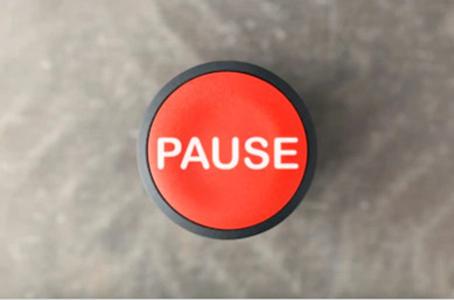 procrastiner, pause