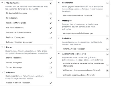 trafic, publicité Facebook